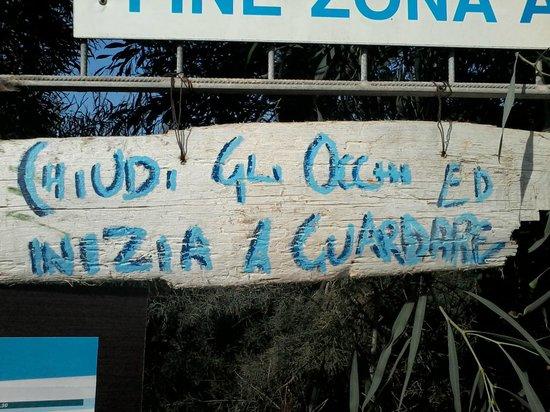 Верноле, Италия: Indicazioni per lo spirito.......
