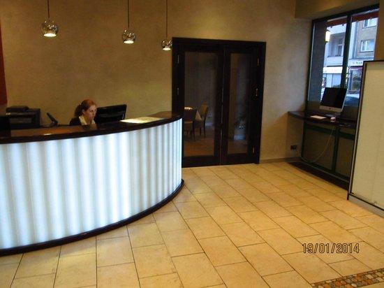 Hotel Artim: hall