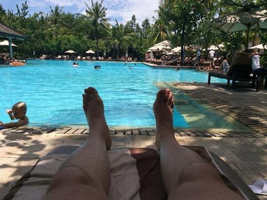 Padma Resort Legian: main pool at Padma Bali