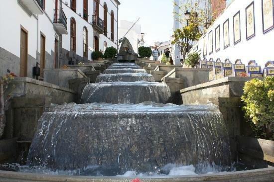 Firgas, Spain: Paseo de GranCanaria