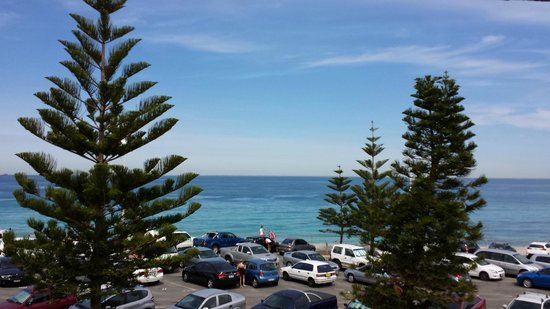 The Cottesloe Beach Hotel : View from room balcony