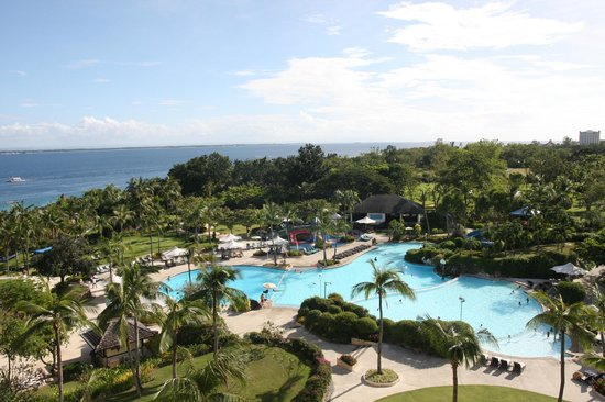 Shangri-La's Mactan Resort & Spa : The view from our room