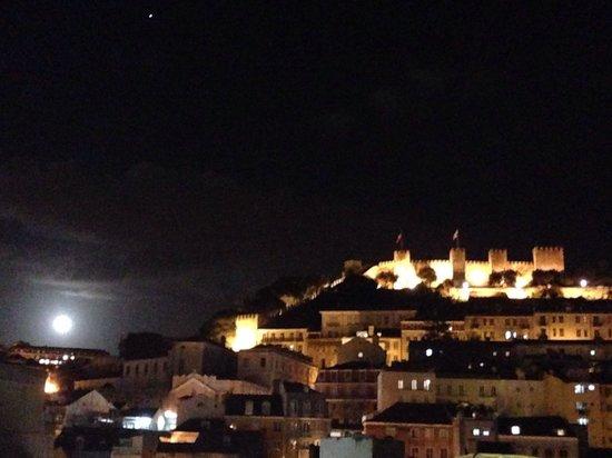 Vista desde nuestra habitación en Hotel Mundial - Lisboa