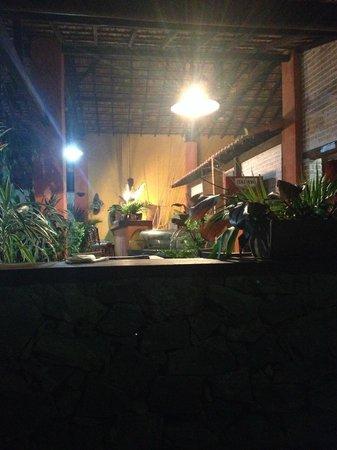 Pousada Tres Vales : Vista bar do restaurante