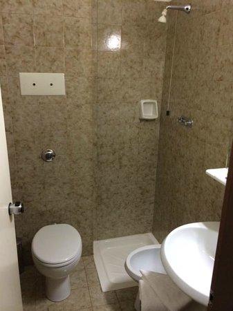 Amadeus Hotel: Bathroom