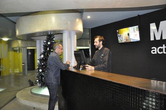 Hotel Acta Mimic : Portaria