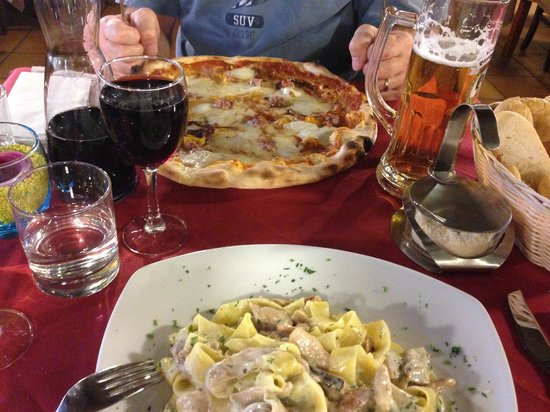 Il Ponte: Meals of the second day