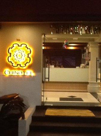 Chinotel Phuket : entrance