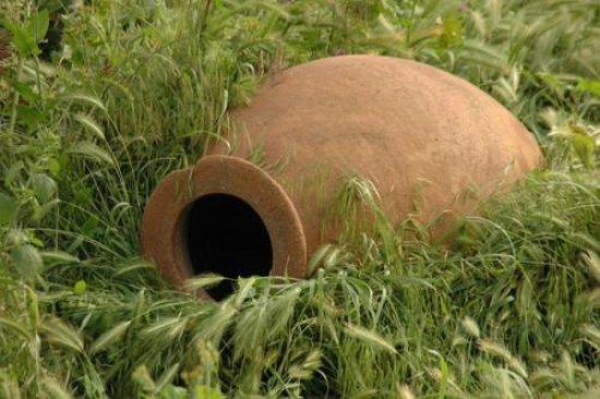 Kakheti Region, Georgien: qvevri maker village