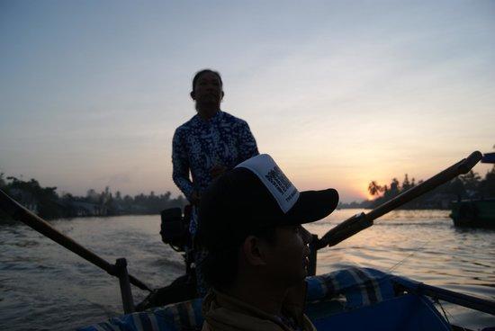 Nam Mon Hotel : Mekong Boattrip