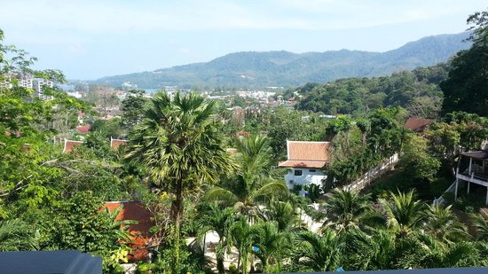 Phuket Nirvana: Ausblick vom Restaurant aus zum Meer