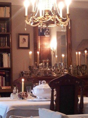 Domaine du Salabert: salle à manger