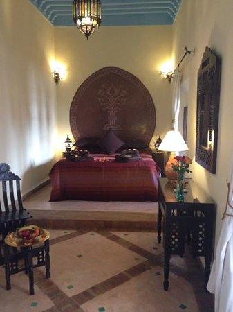 Riad Dar Dialkoum : beautiful room