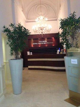 WORLDHOTEL Cristoforo Colombo: Reception