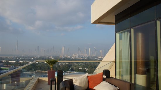 Raffles Dubai: View from Suite Terrace