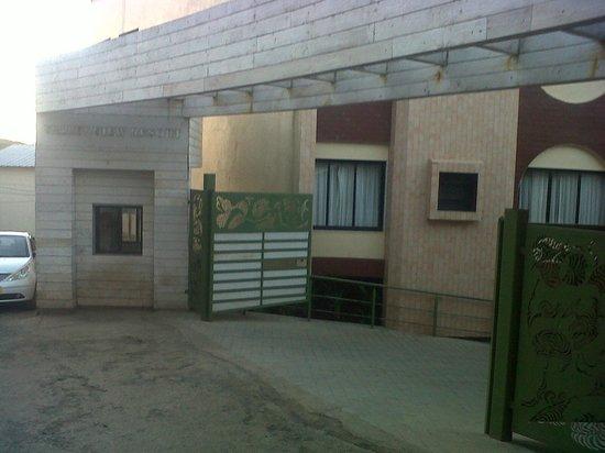 Valley View Resort : main gate