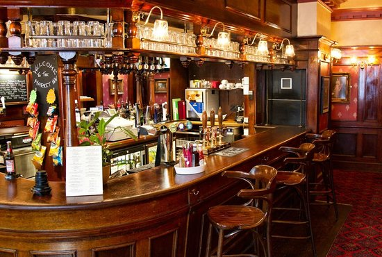 The Market Inn: the bar