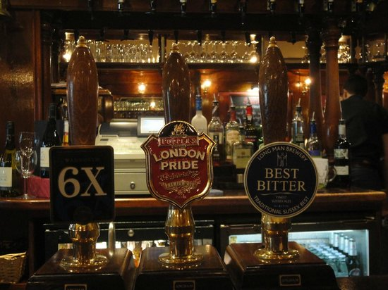 The Market Inn: real ales available