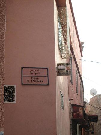 Riad Mariana: 'Our' street.