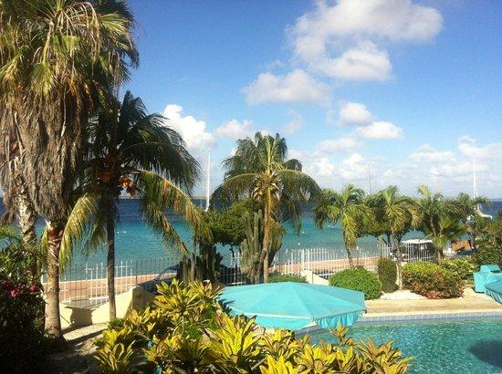 Bonaire Oceanfront Apartments : Uitzicht