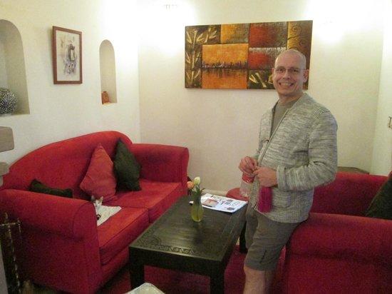 Riad Mariana: Lounge.