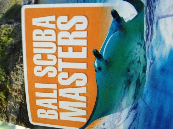 New logo for bali scuba masters