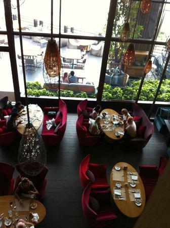 Edge: the restaurant inside