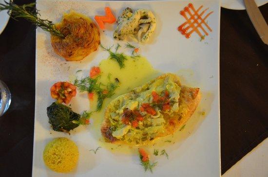 Le Napoléon : Рыба под соусом
