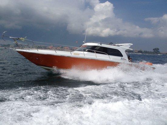 New boat for scuba diving @ bali scuba masters