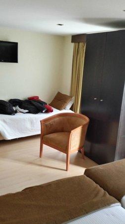 Hotel Duas Nacoes: CHAMBRE