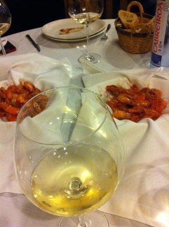 Restaurante Lar : Quisquilla fresca.