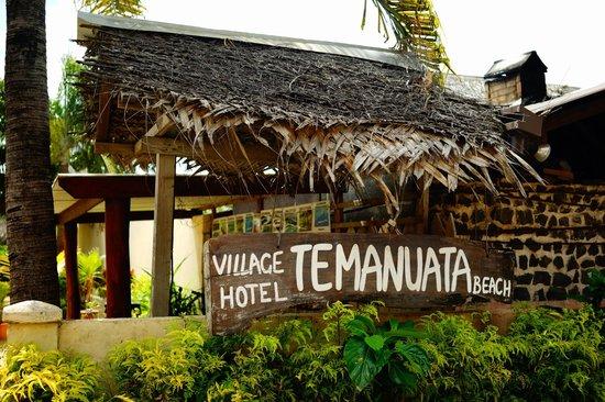 Village Temanuata : The entrance