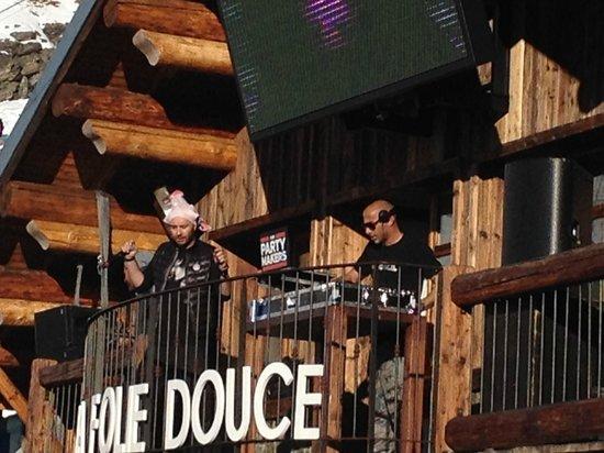 La Folie Douce : great place
