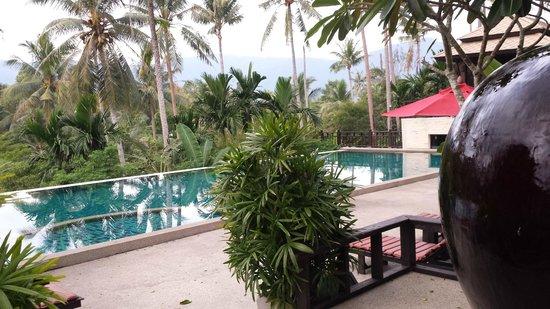 Kirikayan Luxury Pool Villas & Spa: La piscina