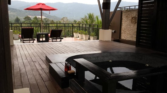 Kirikayan Luxury Pool Villas & Spa: La nostra terrazza