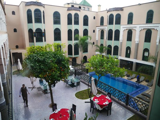 Palais Ommeyad Suites & Spa : 中庭