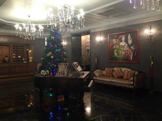 ALFAVITO HOTEL: Холл