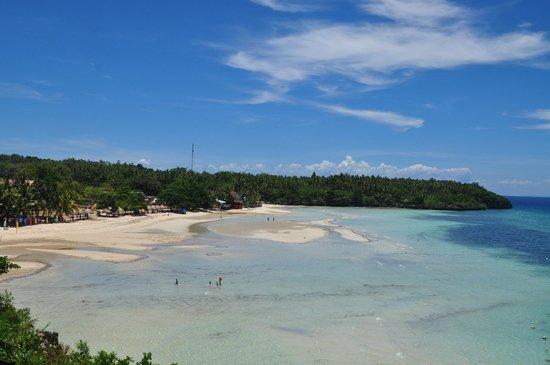 Santiago Bay Garden & Resort: Overlooking Camotes Island