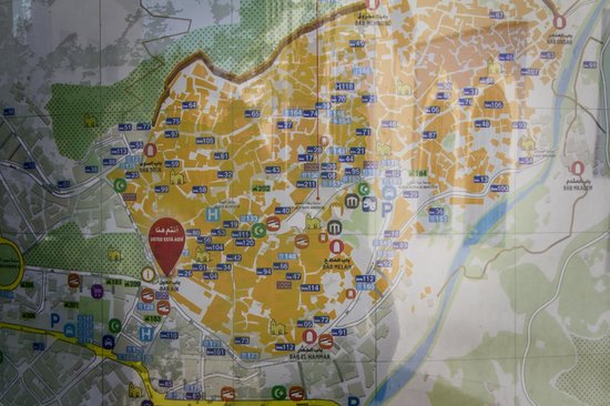 Medina: Карта медины