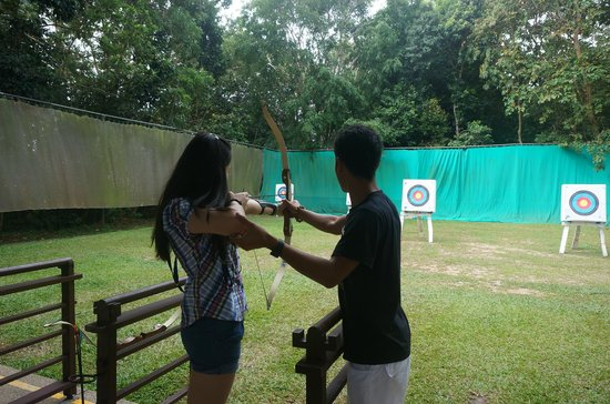 Club Med Bintan Island: archery