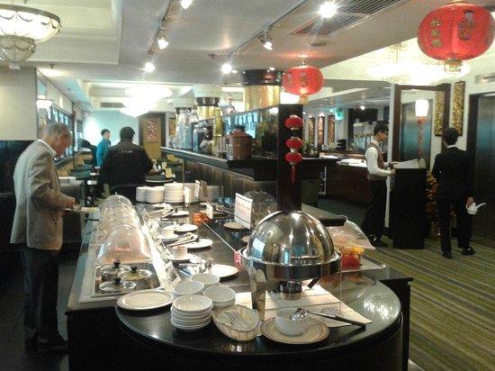 Shamrock Hotel: Buffet petit Dej