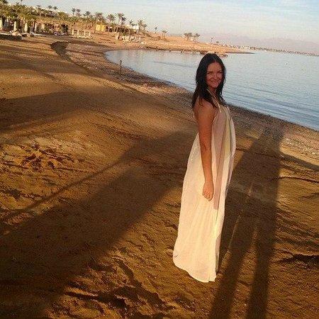 Le Meridien Dahab Resort: Пляж