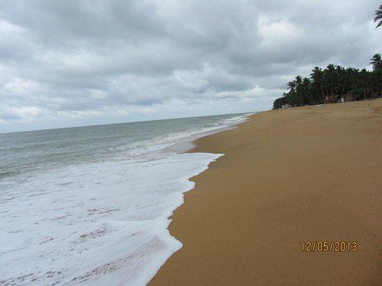 Sanmali Beach Hotel : побережье чуть подальше самого отеля