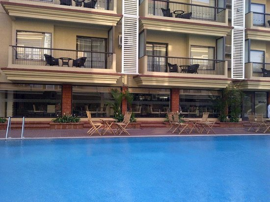Deltin Suites: All Balcony facing pool