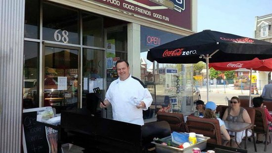 Pat and Kevin's on the Square : BBQ IS GOOD FOR YOU