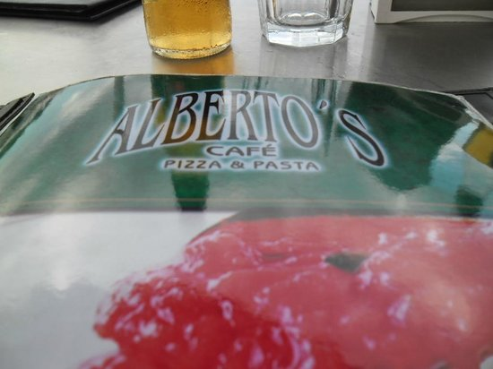 Alberto's: Cardápio