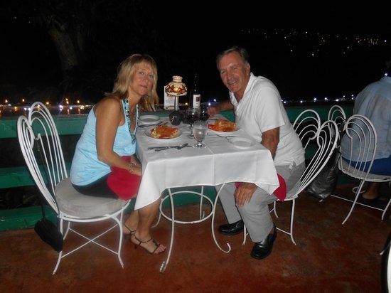 Evita's Italian Restaurant : What a view....