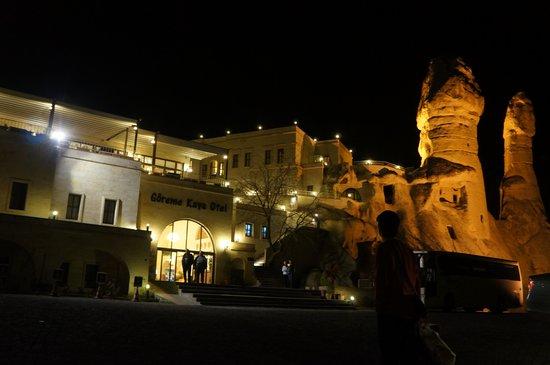 Goreme Kaya Hotel: 저녁 호텔 사진