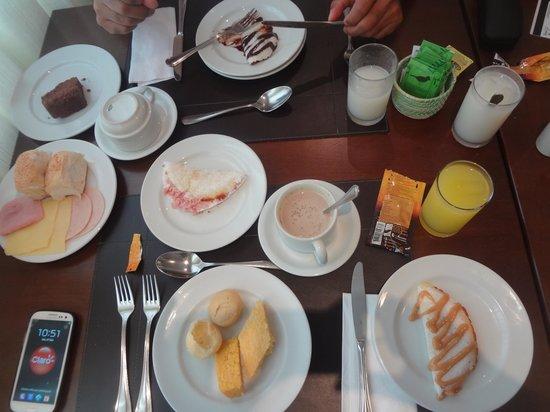 Best Western Premier Maceio: café da manhã super farto!