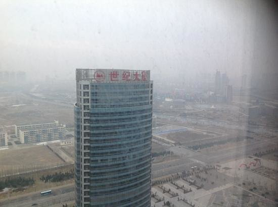 Crowne Plaza Yantai Seaview : view from 34th floor.